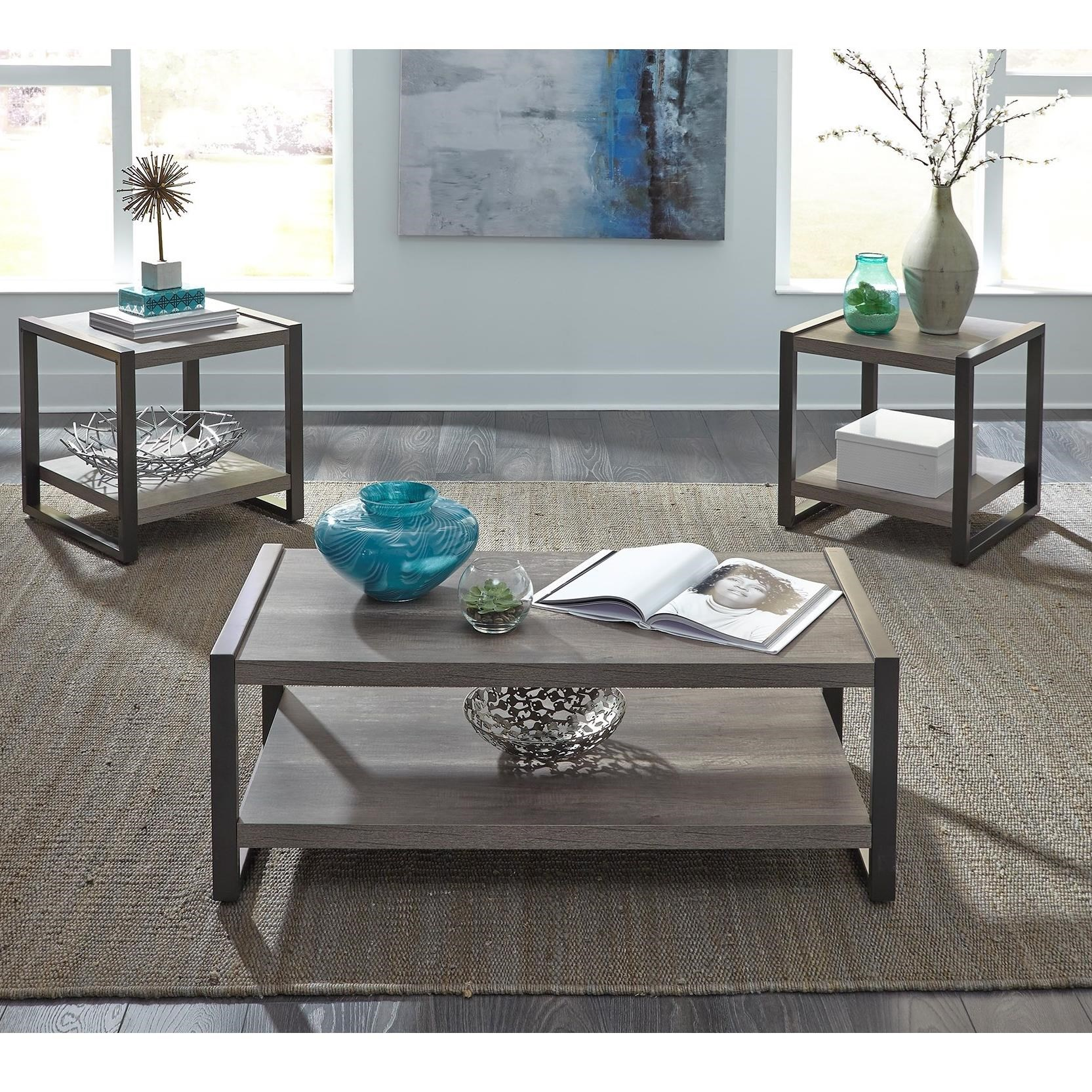Tanners Creek 3 Piece Occasional Group by Liberty Furniture at Darvin Furniture