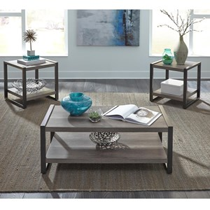 Contemporary 3 Piece Occasional Table Group