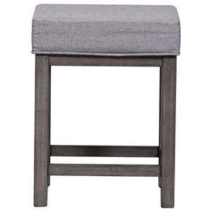 Upholstered 3-Piece Console Stool Set