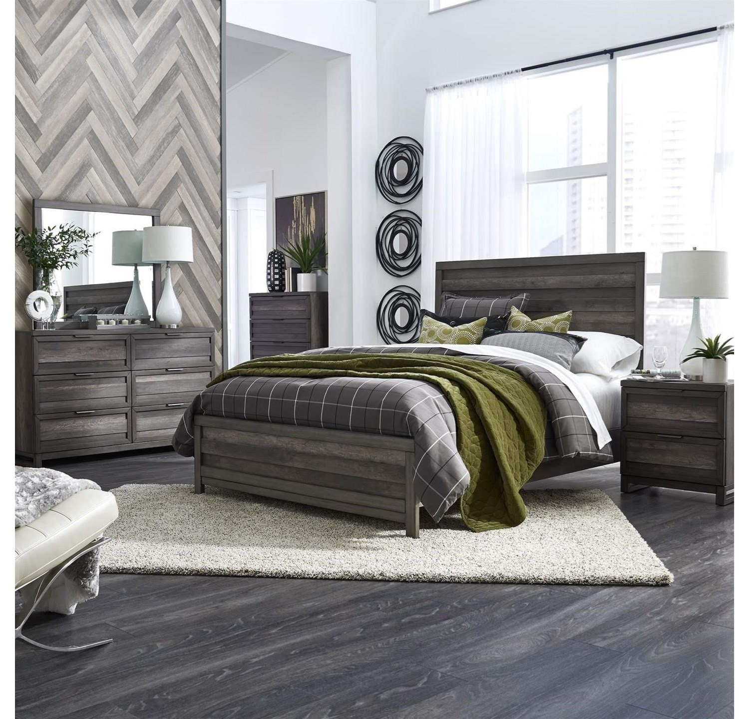 Tanners Creek Queen 4-Piece Bedroom by Freedom Furniture at Ruby Gordon Home