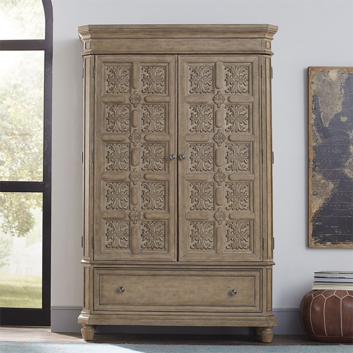 The Laurels Armoire by Libby at Walker's Furniture