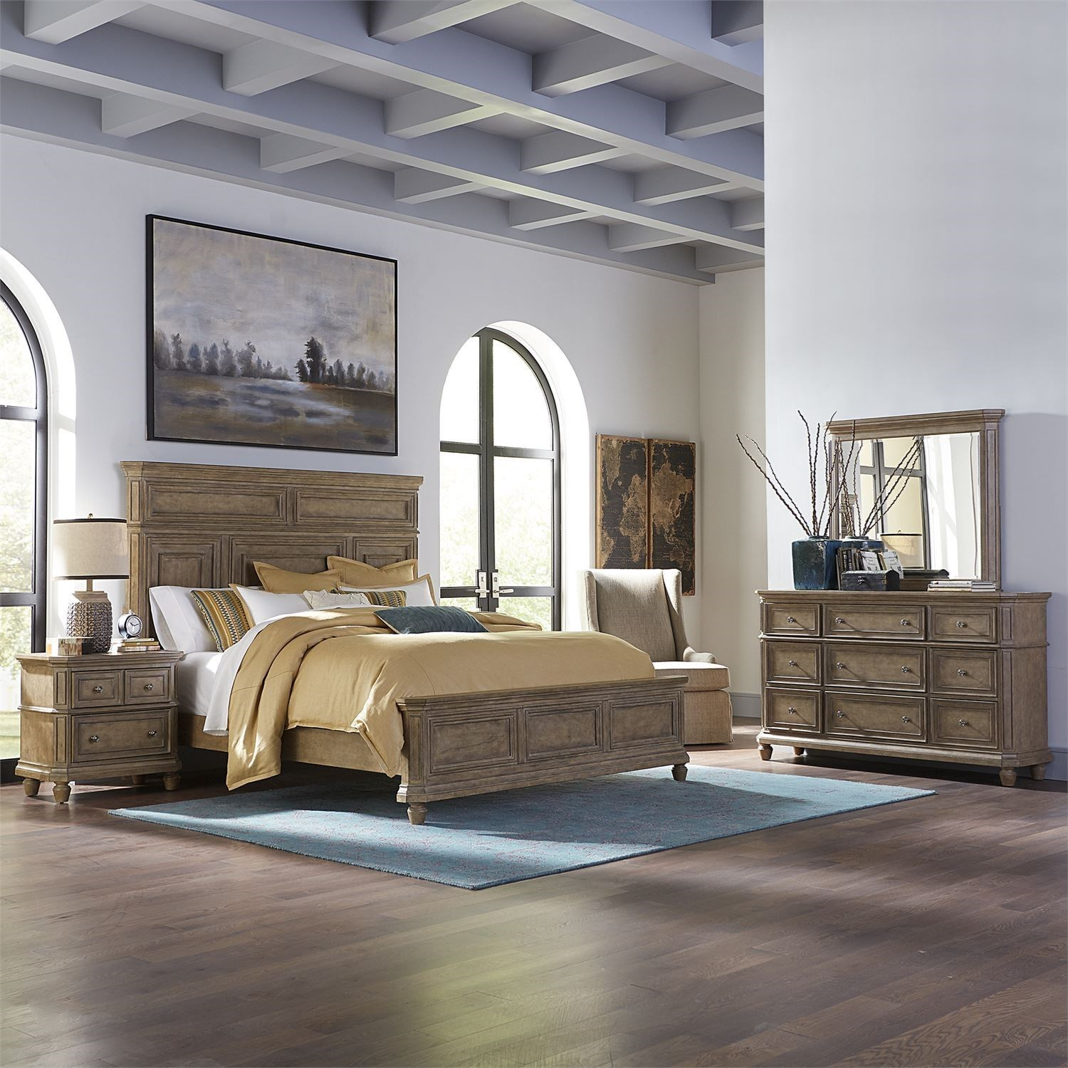 The Laurels King Bedroom Group by Libby at Walker's Furniture
