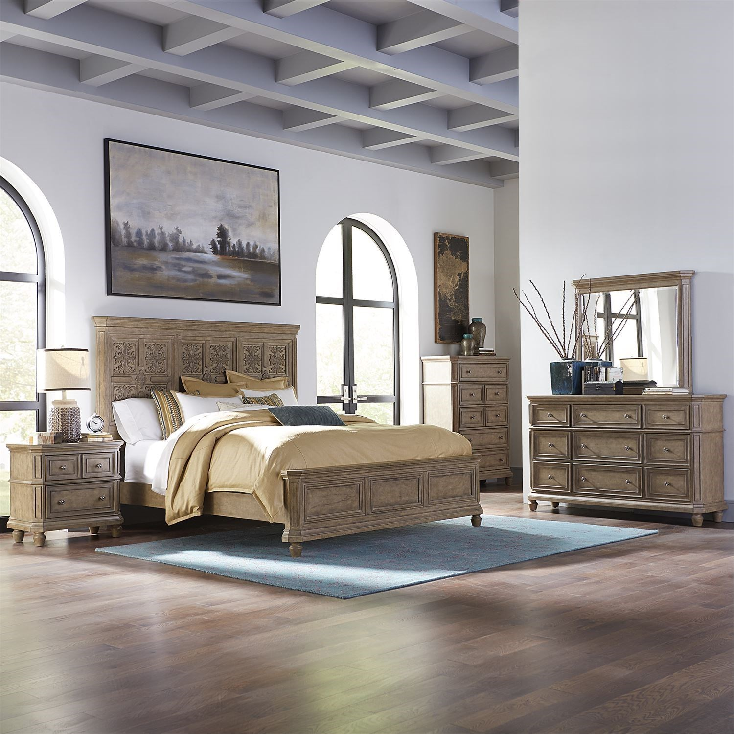 The Laurels Queen Bedroom Group by Libby at Walker's Furniture
