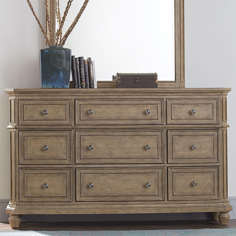 The Laurels 9-Drawer Dresser by Libby at Walker's Furniture