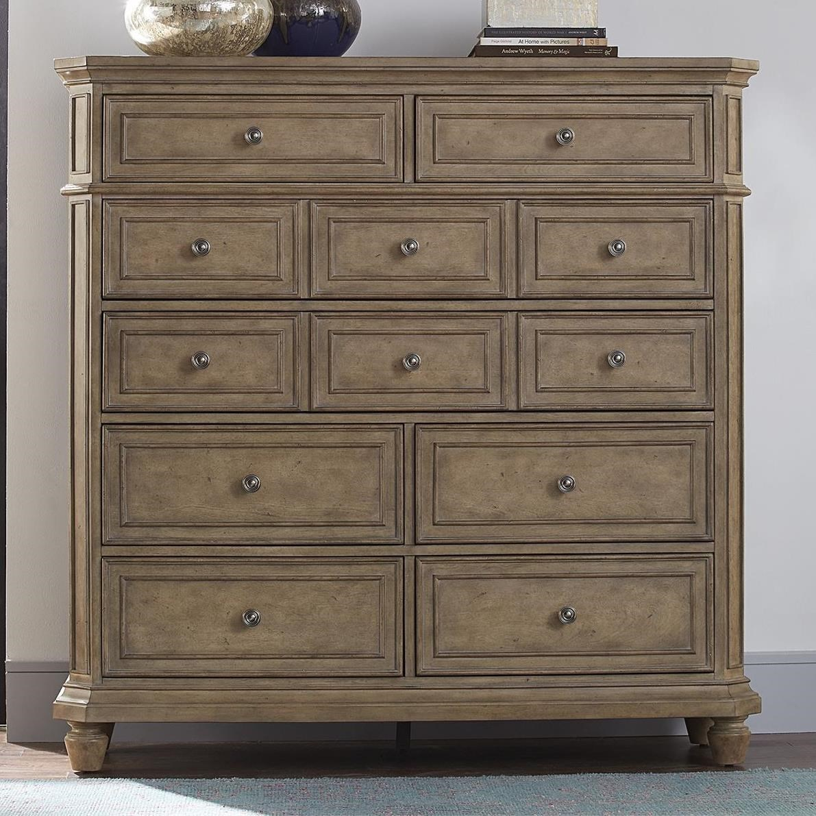 The Laurels 8-Drawer Chest by Libby at Walker's Furniture