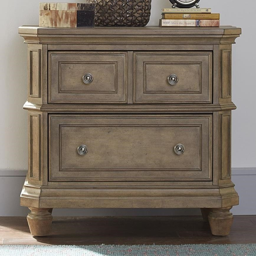 The Laurels 2-Drawer Nightstand by Libby at Walker's Furniture