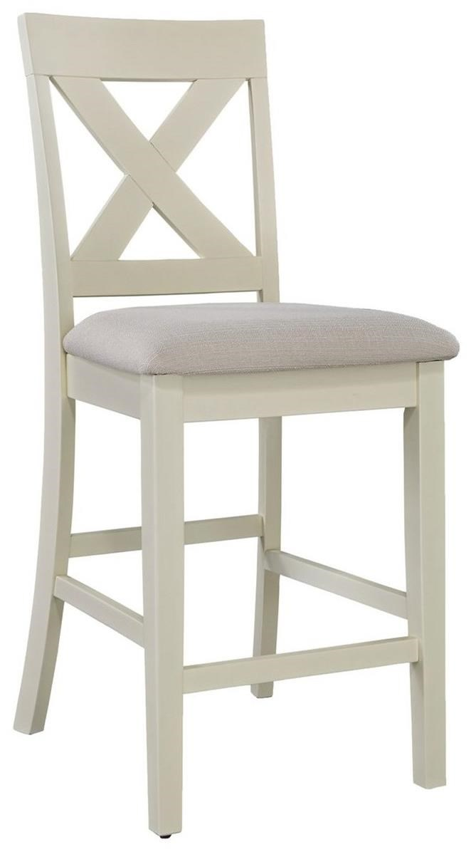 Thornton X-Back Counter Chair by Liberty Furniture at Northeast Factory Direct