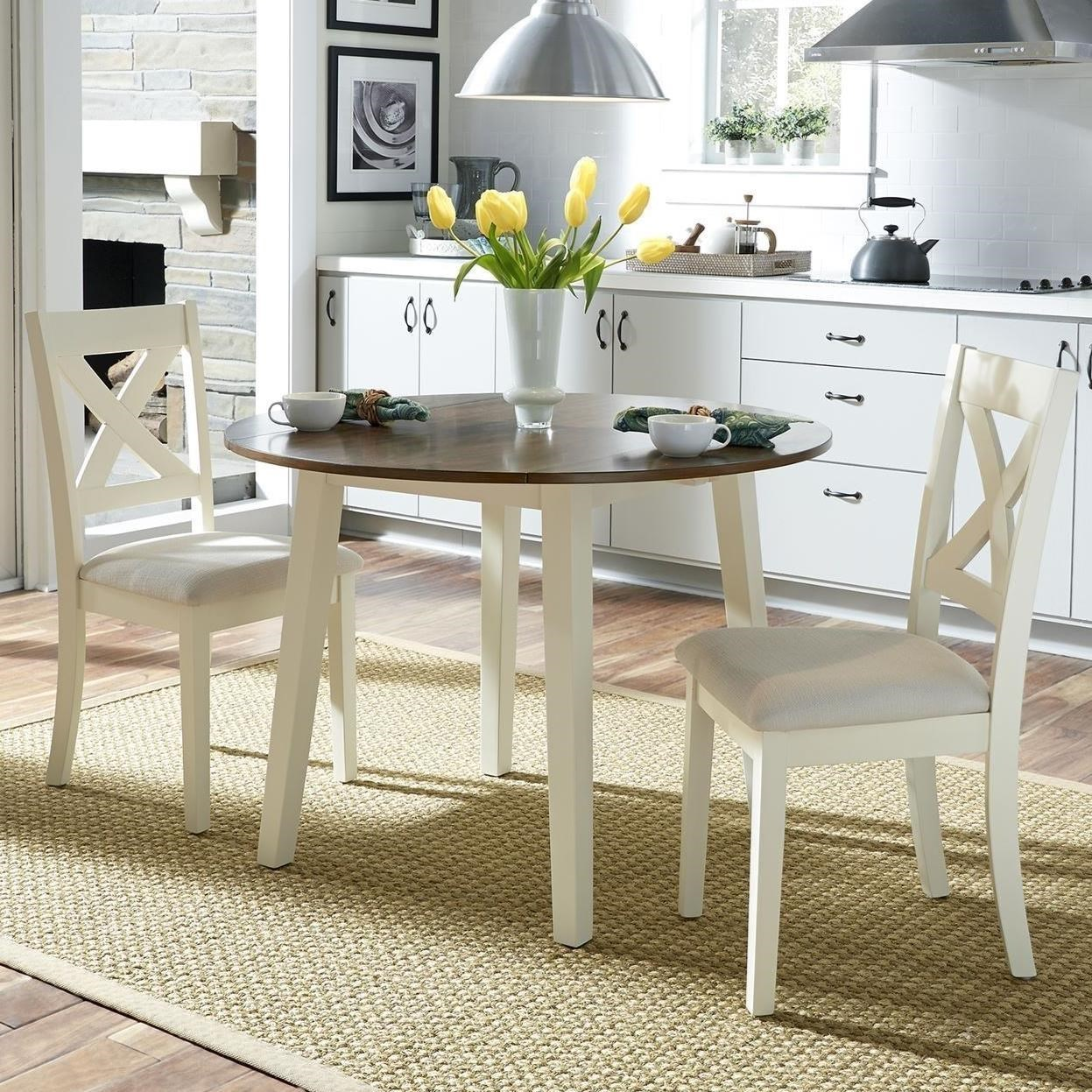 Thornton 3 Piece Drop Leaf Table Set by Liberty Furniture at Standard Furniture
