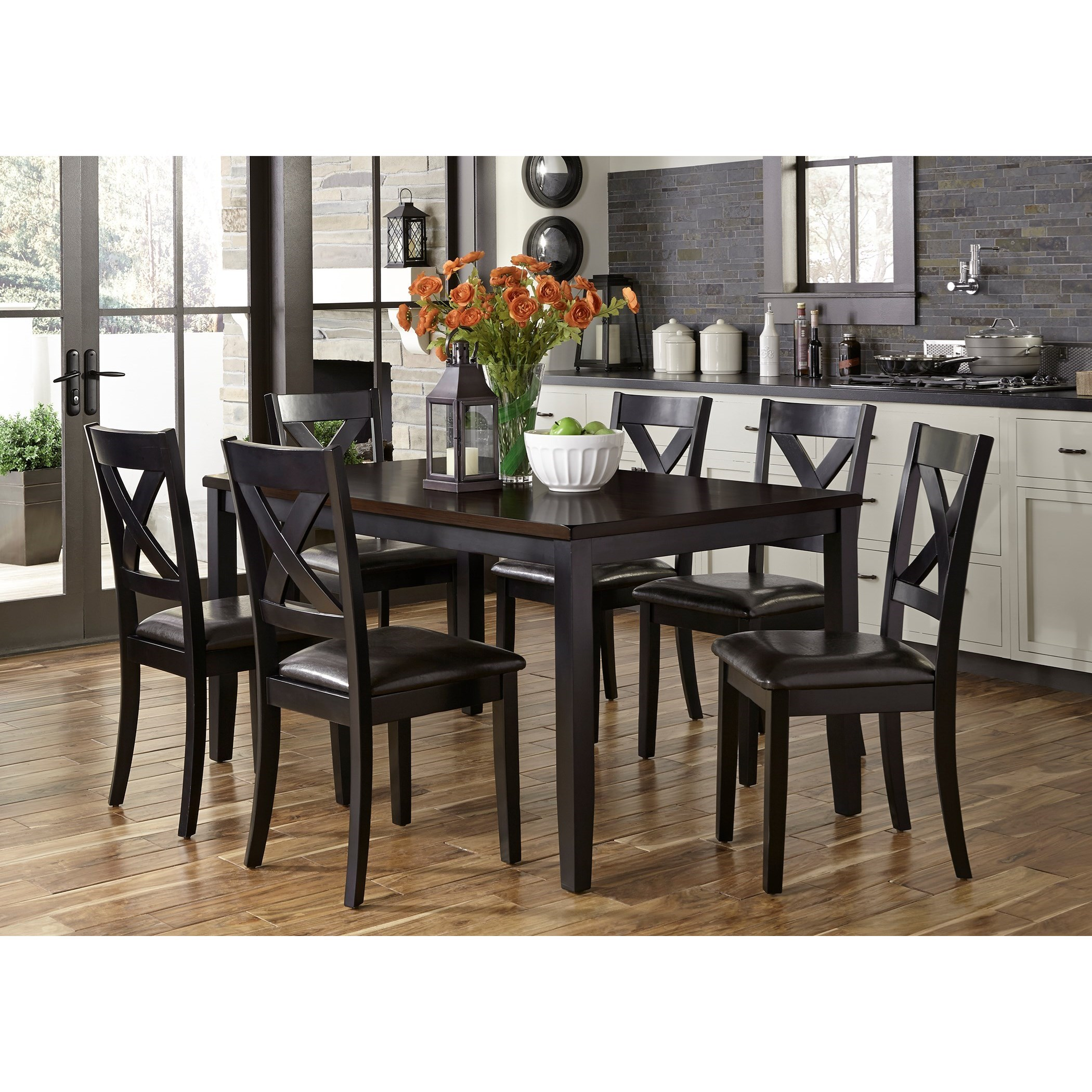 Thornton 7 Piece Rectangular Table Set by Liberty Furniture at Northeast Factory Direct