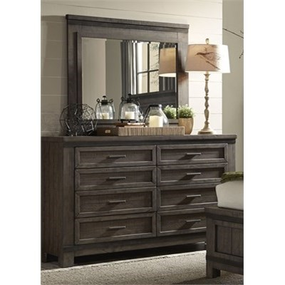 Thornwood Hills Dresser and Mirror by Liberty Furniture at Northeast Factory Direct