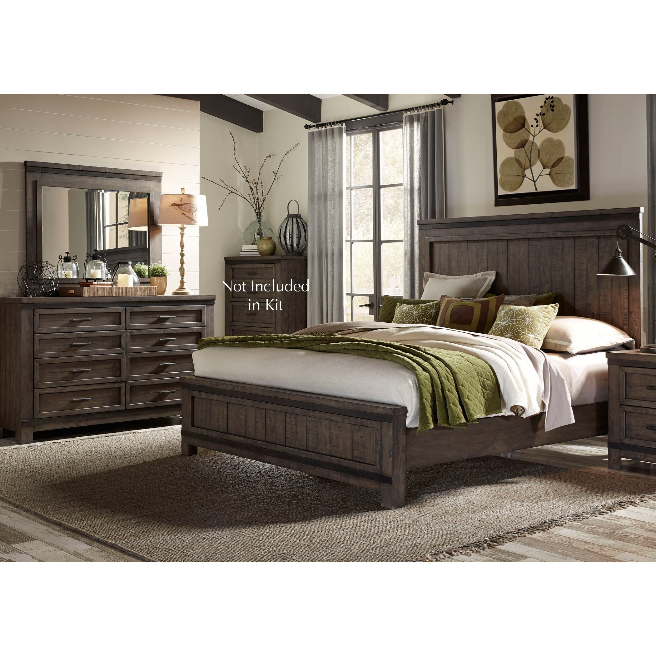 Thornwood Hills Queen Bedroom Group by Libby at Walker's Furniture