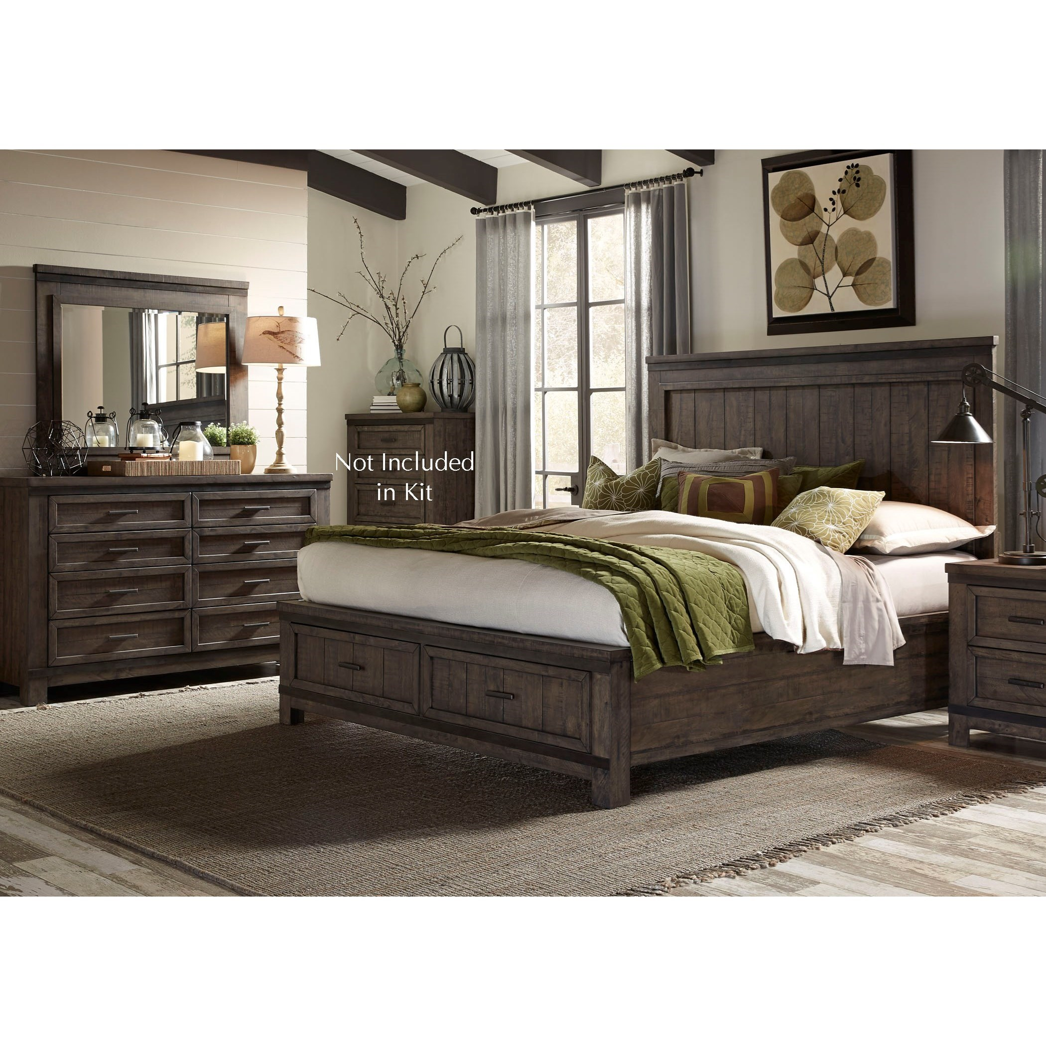 Thornwood Hills Queen Bedroom Group by Liberty Furniture at Northeast Factory Direct