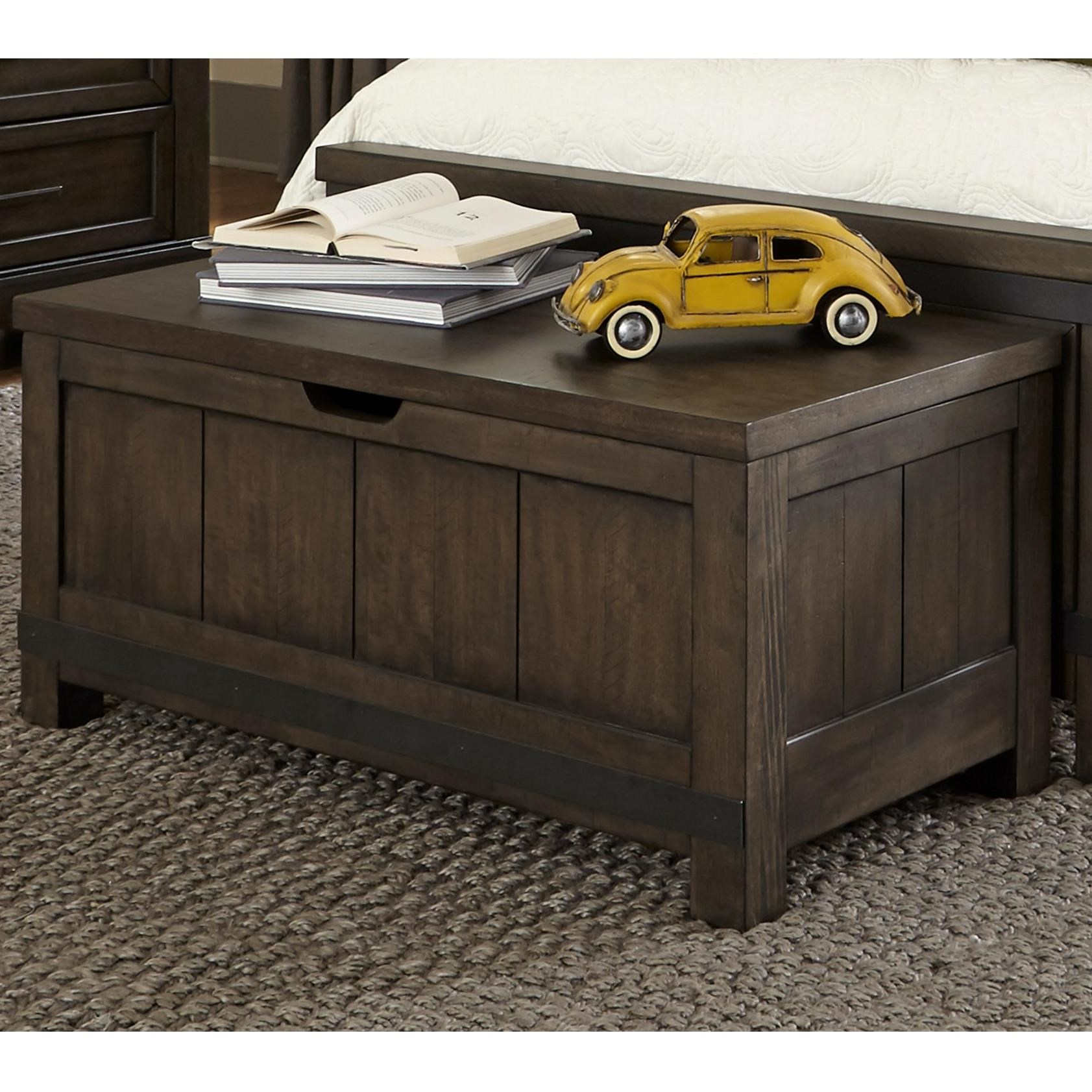 Thornwood Hills Toy Chest Bench by Libby at Walker's Furniture