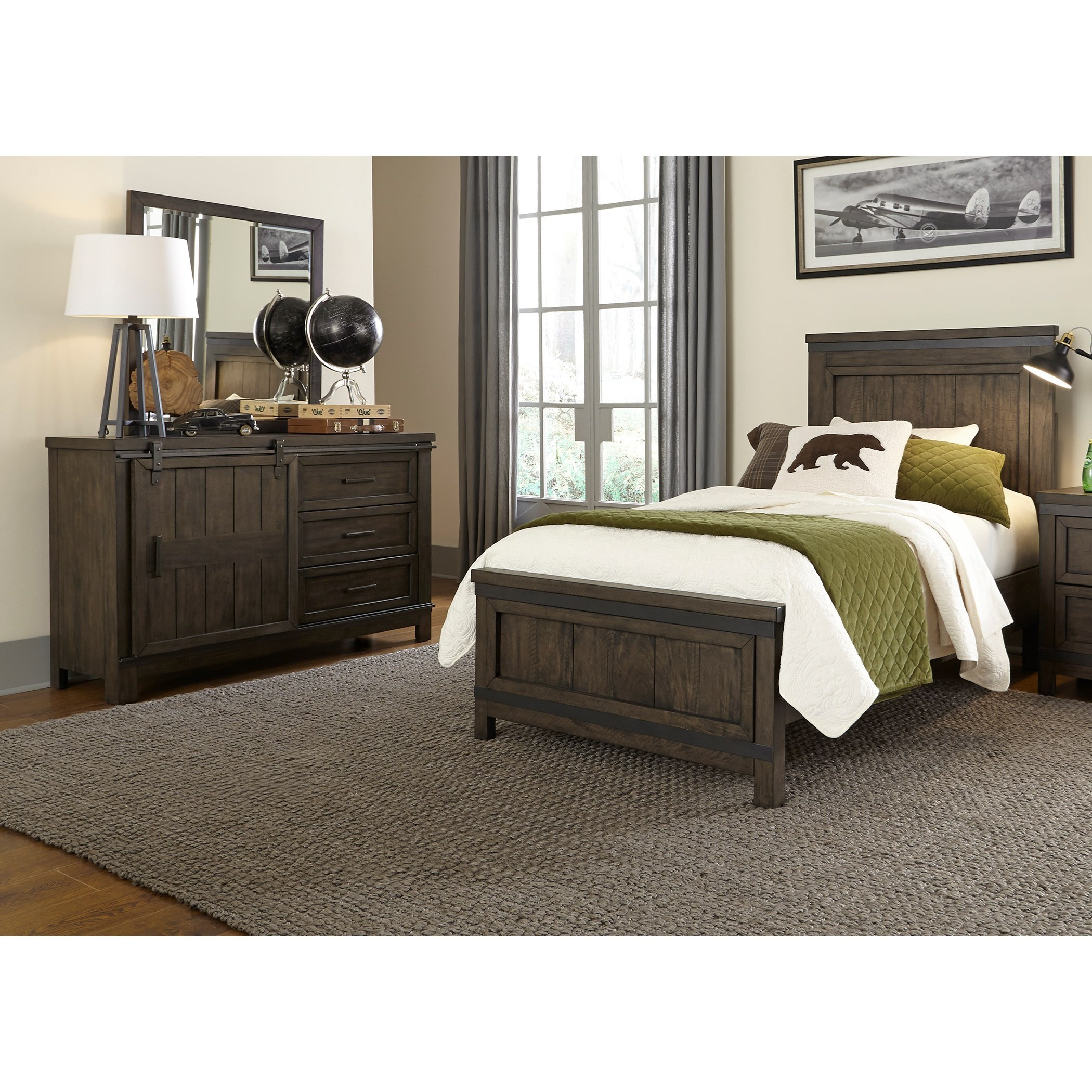 Thornwood Hills Full Bedroom Group by Libby at Walker's Furniture