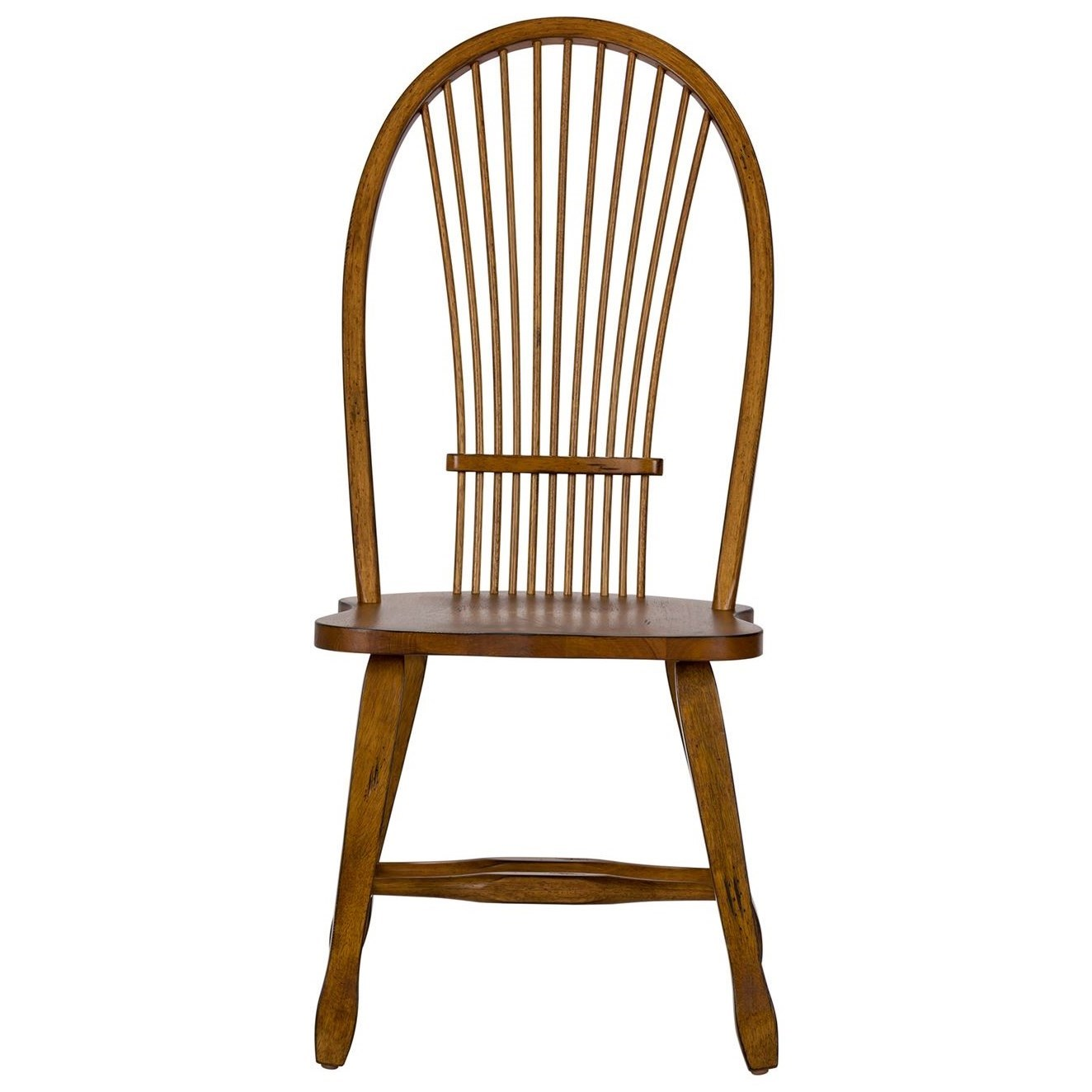 Treasures  Sheaf Back Side Chair by Freedom Furniture at Ruby Gordon Home