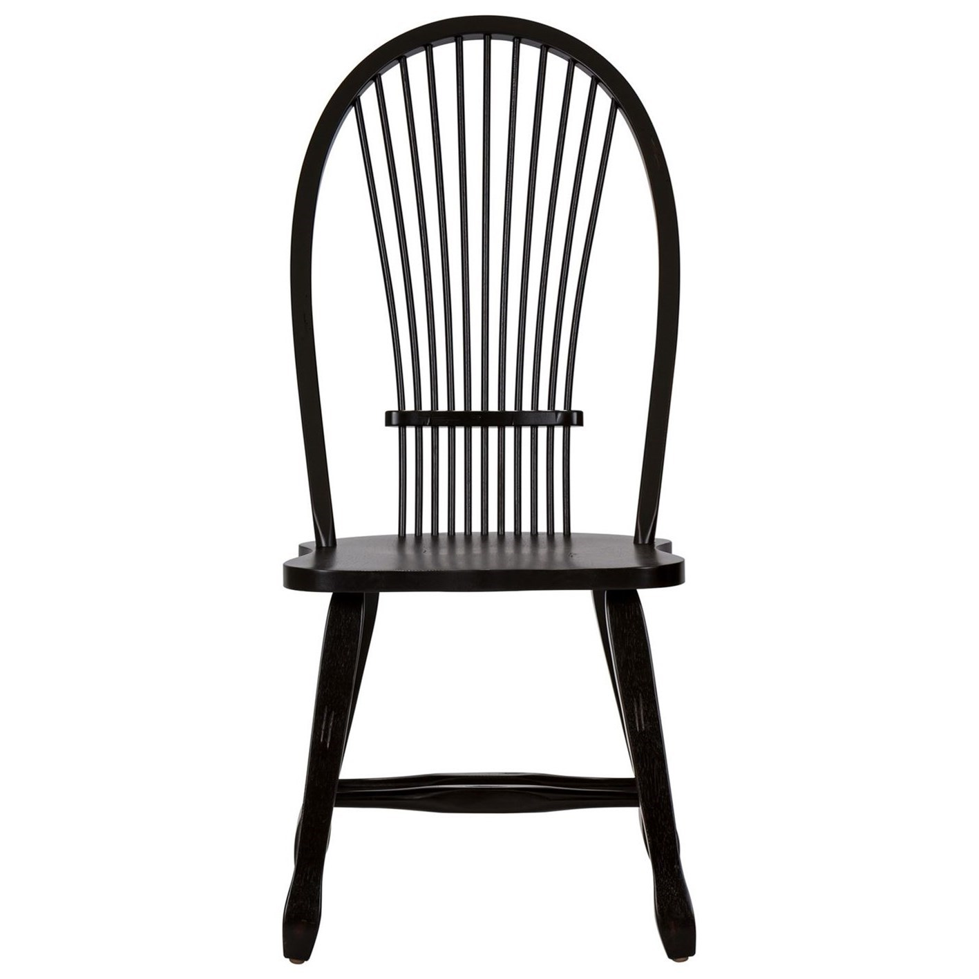 Treasures  Sheaf Back Side Chair by Libby at Walker's Furniture