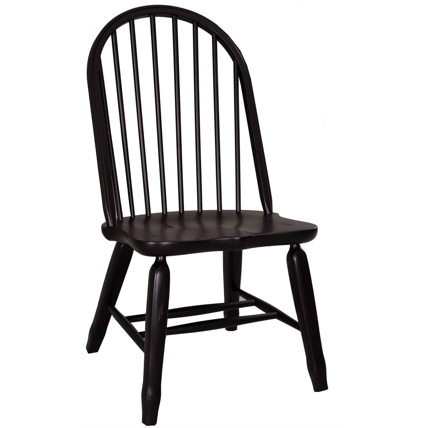 Treasures  Bow Back Side Chair by Libby at Walker's Furniture