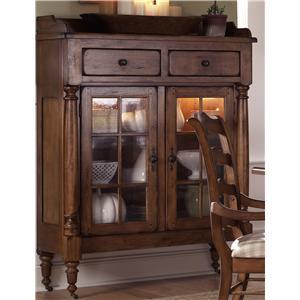 Liberty Furniture Treasures  Display Cabinet