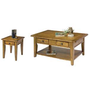 Liberty Furniture Treasures  3 Piece Occasional Table Set