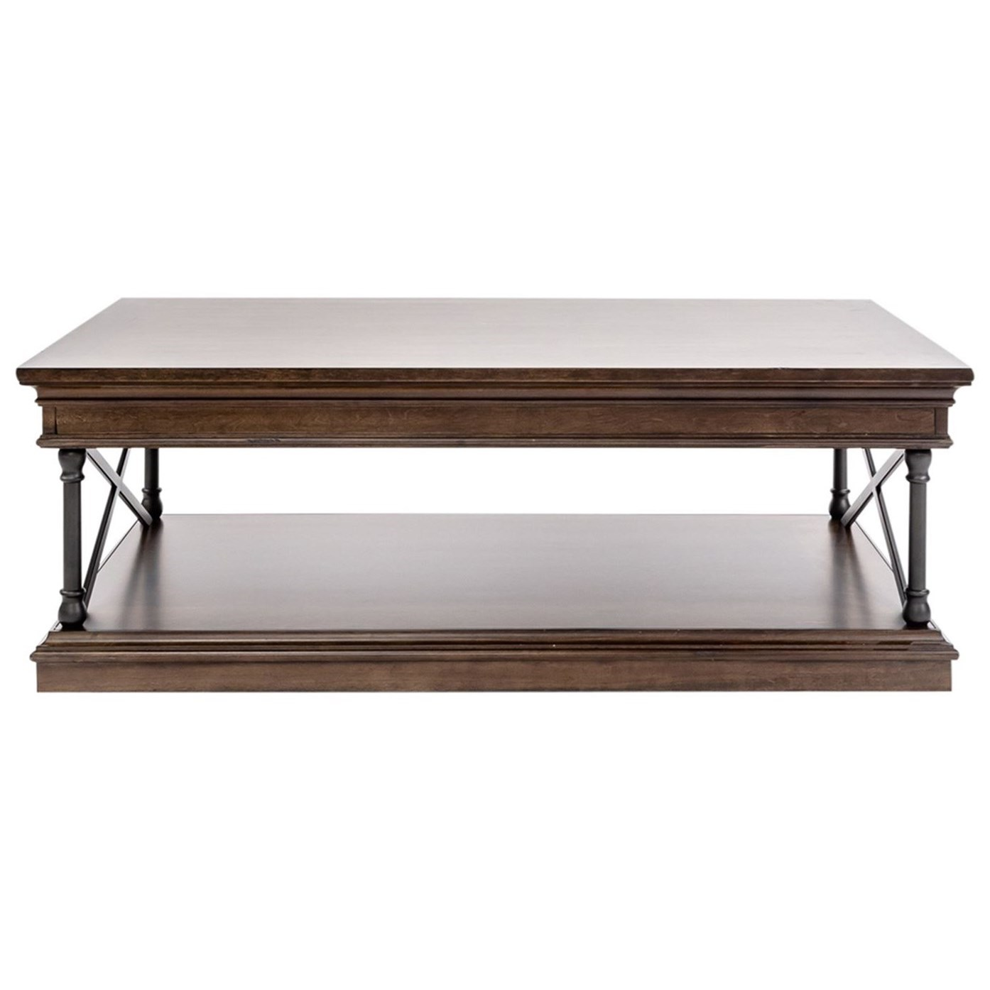 Tribeca Rectangular Cocktail Table by Liberty Furniture at Story & Lee Furniture