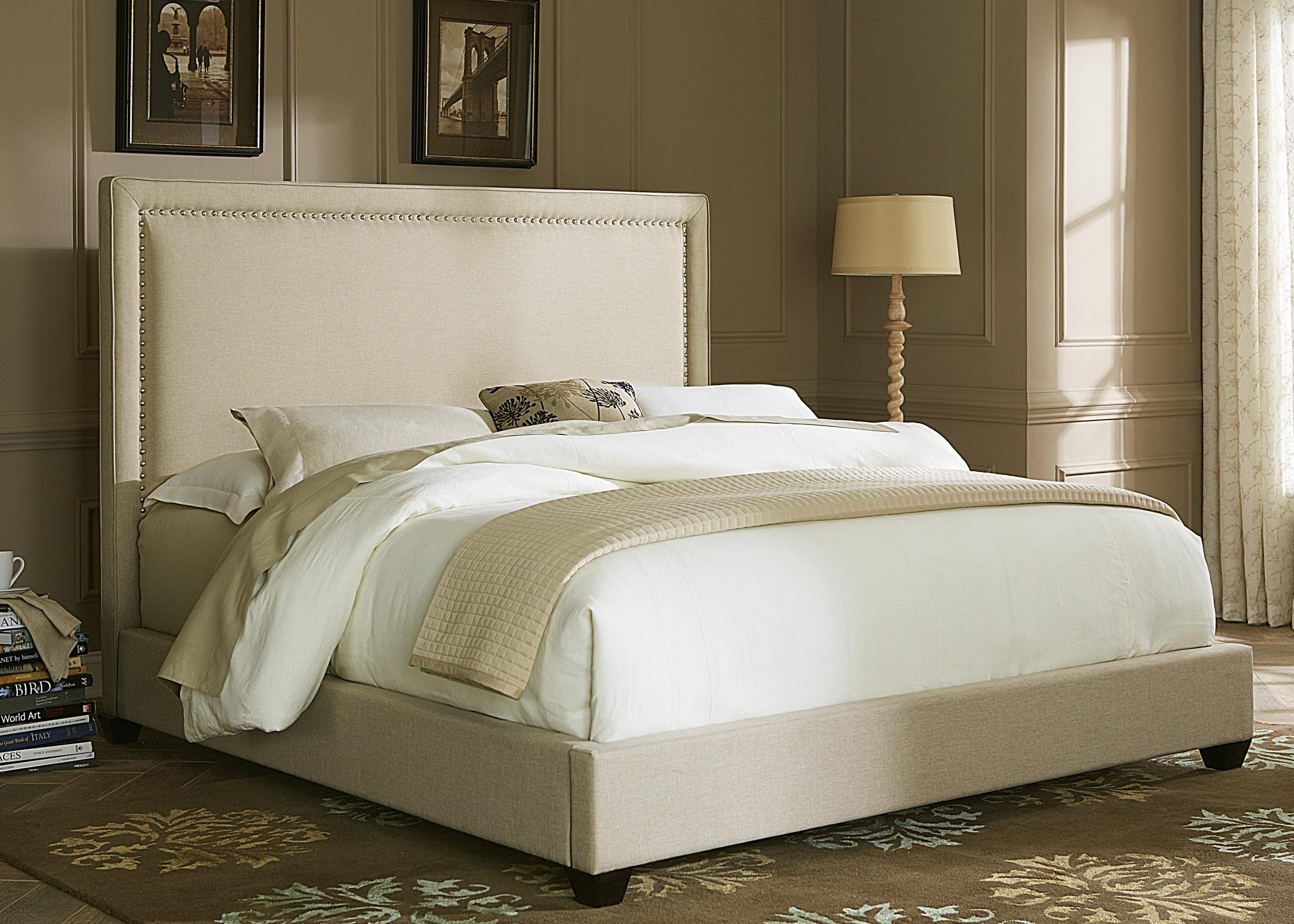 Upholstered Beds Queen Panel Bed  by Liberty Furniture at Lapeer Furniture & Mattress Center