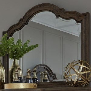 Traditional Mirror with Beveled Glass