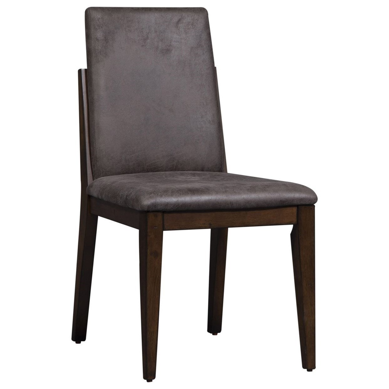Vince Upholstered Side Chair by Libby at Walker's Furniture