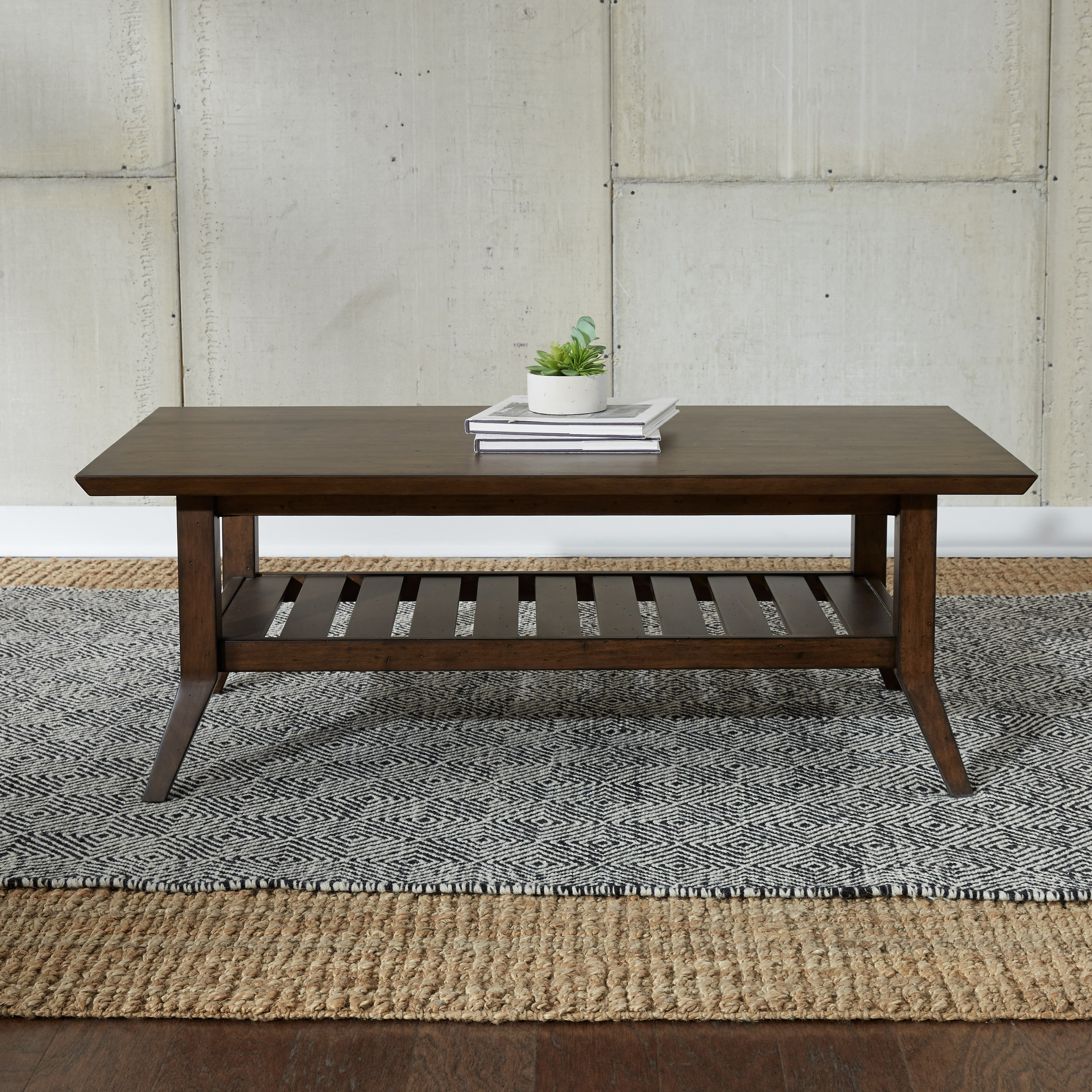Ventura Boulevard Rectangular Cocktail Table by Freedom Furniture at Ruby Gordon Home