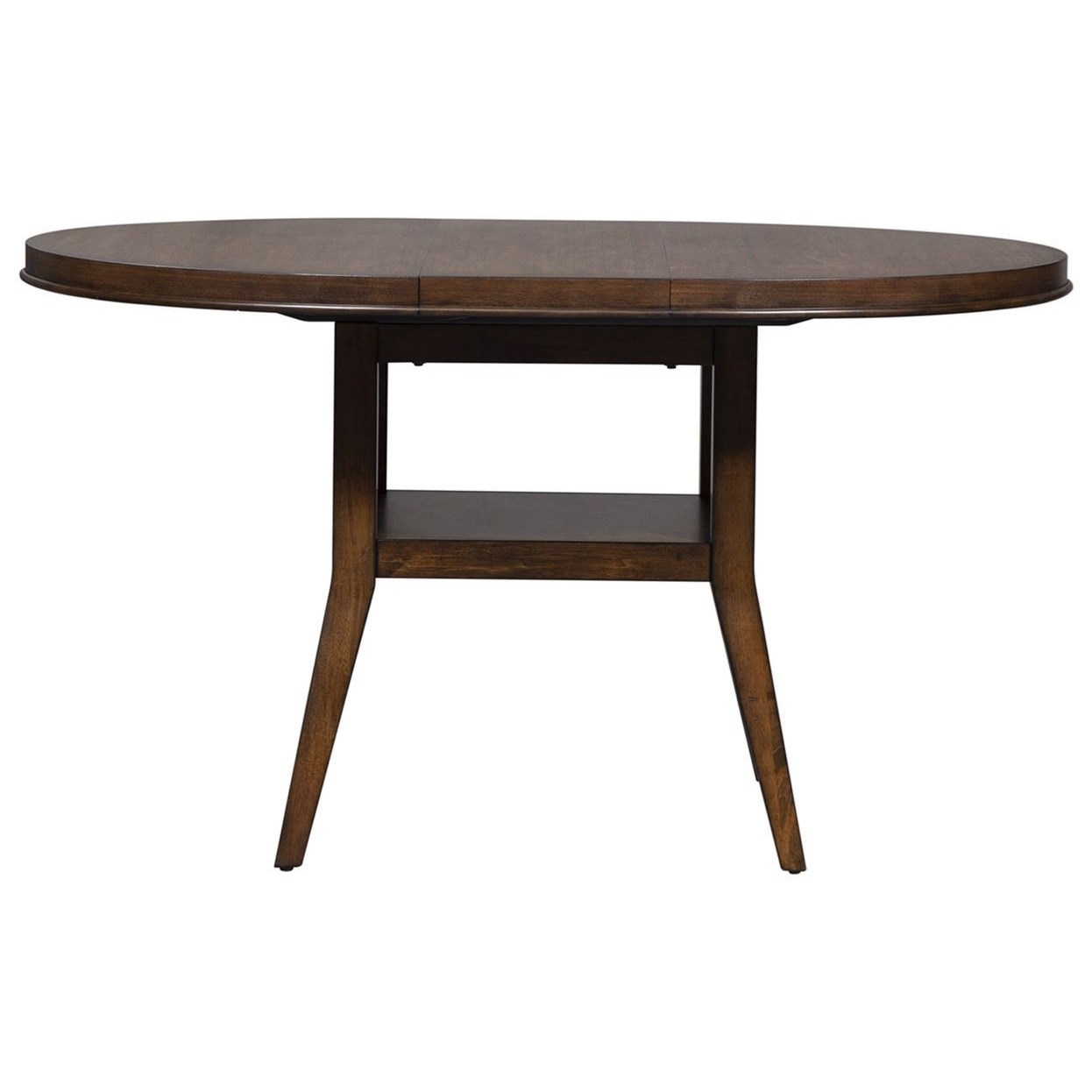 Vince Oval Pedestal Table by Libby at Walker's Furniture