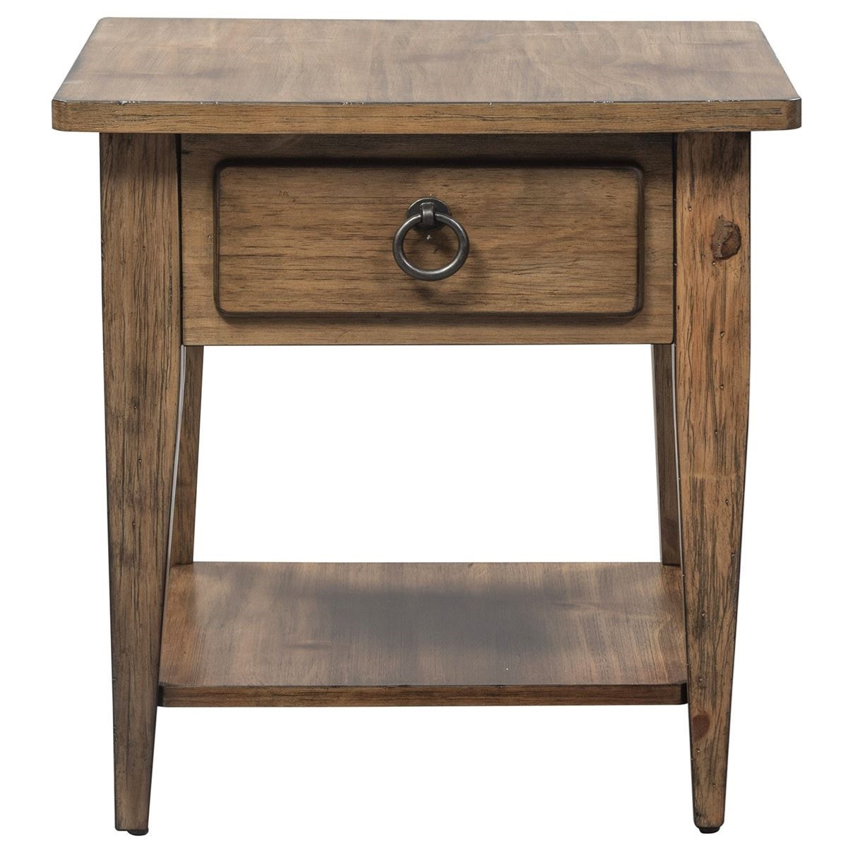 Verona Valley 1-Drawer End Table by Freedom Furniture at Ruby Gordon Home