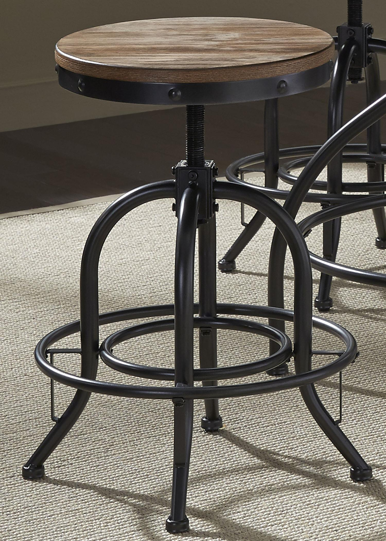 Vintage Dining Series Bar Stool by Libby at Walker's Furniture