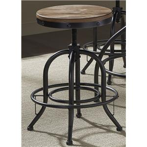 "Adjustable Spinning 24"" Bar Stool"