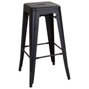 "Liberty Furniture Vintage Dining Series 30"" Metal Barstool"