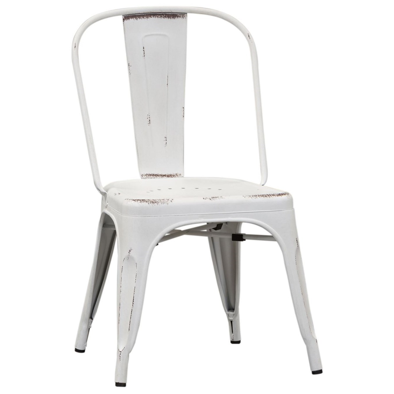Vintage Dining Series Bow Back Dining Side Chair by Libby at Walker's Furniture