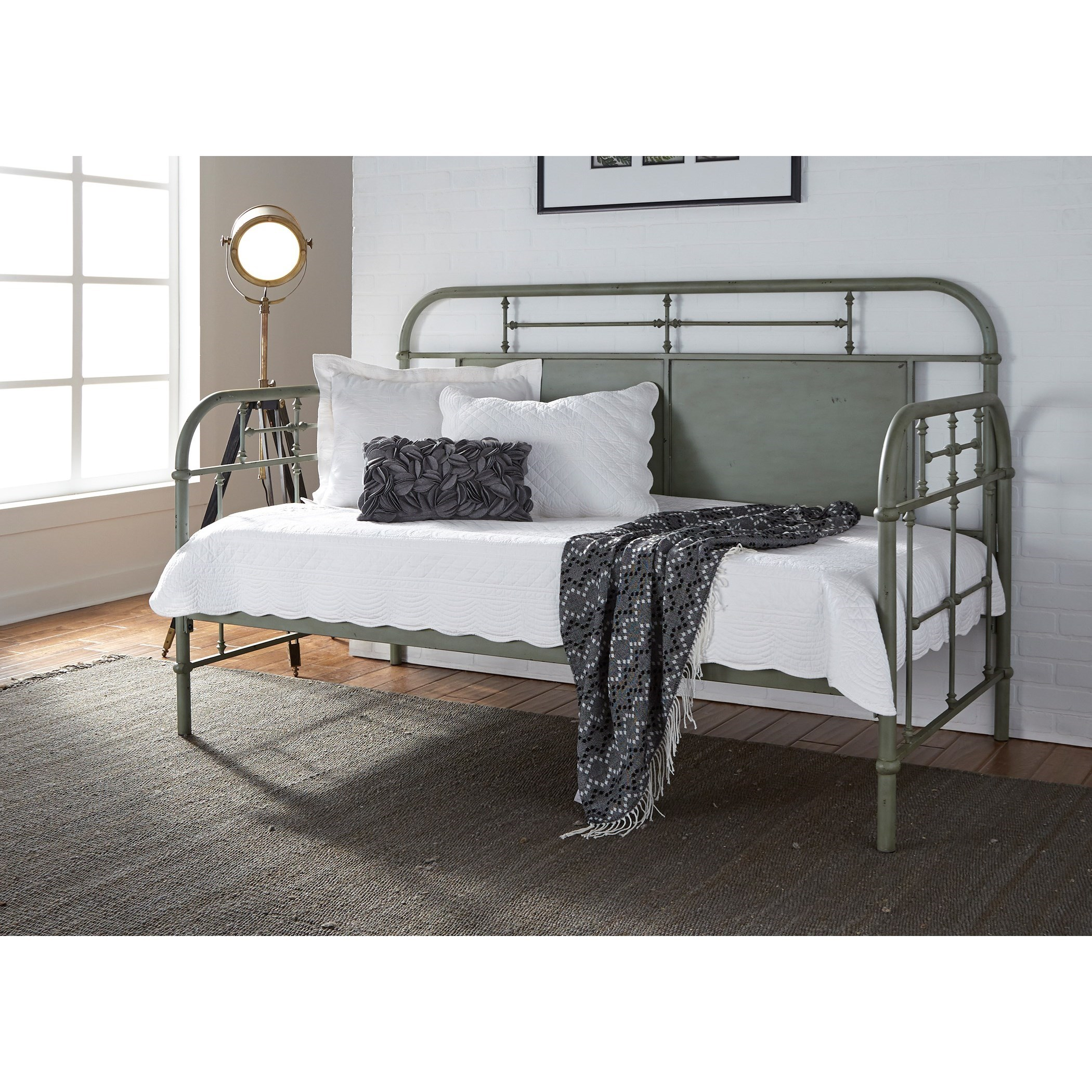 Vintage Series Twin Metal Daybed by Libby at Walker's Furniture