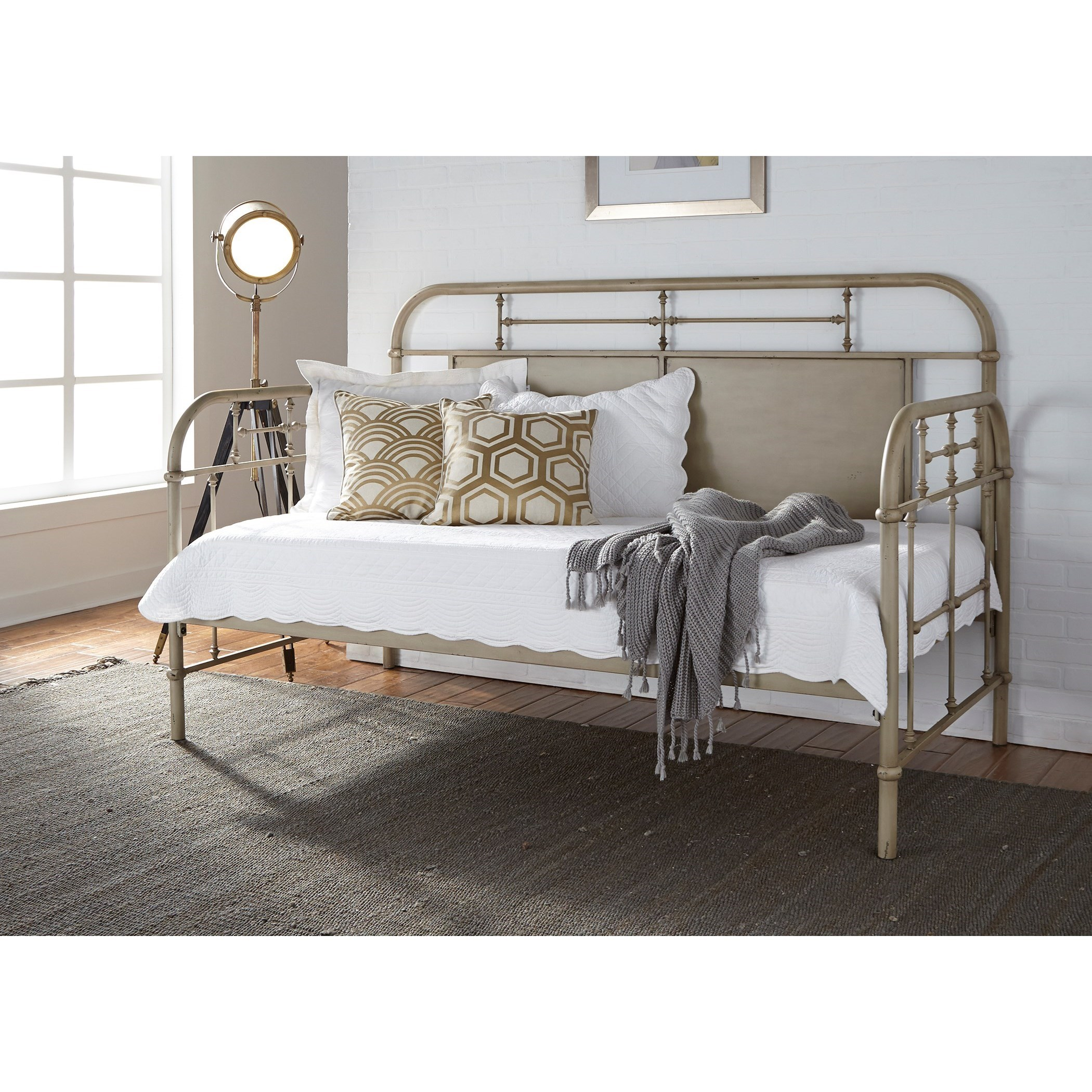 Vintage Series Twin Metal Daybed by Liberty Furniture at Northeast Factory Direct