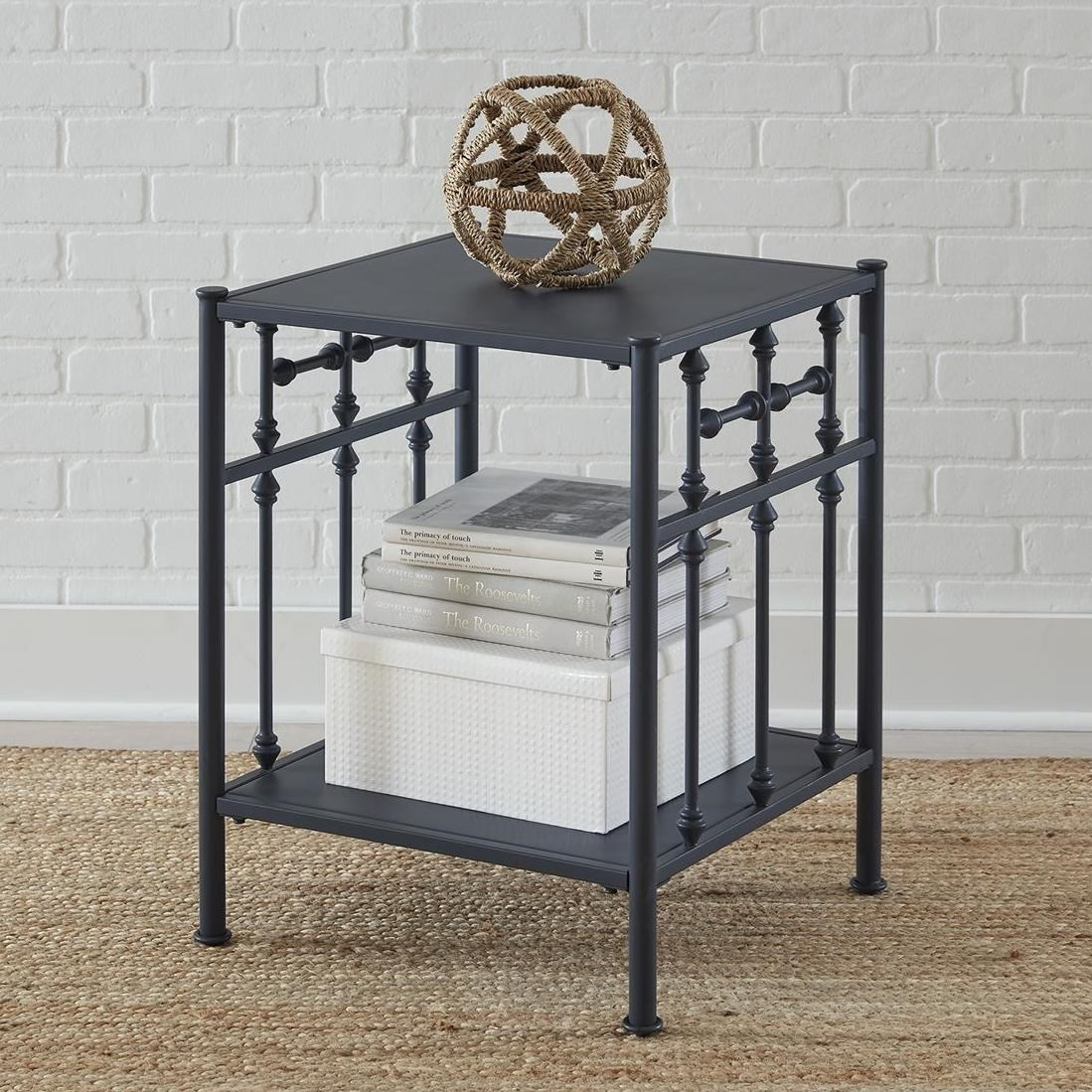 Vintage Series Open Nightstand by Libby at Walker's Furniture
