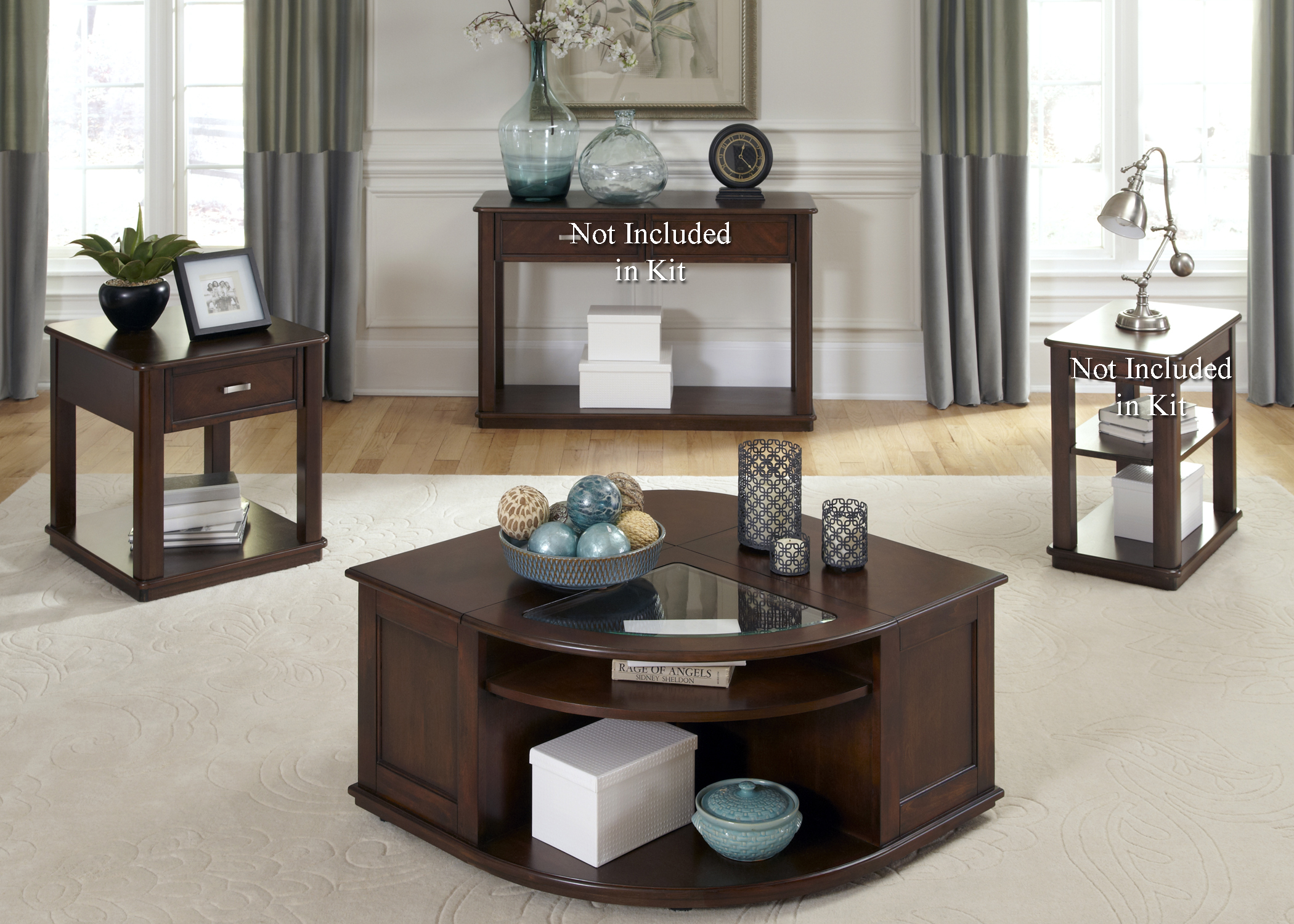Wallace 3 Piece Occasional Table Set  by Freedom Furniture at Ruby Gordon Home