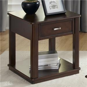Casual 1 Drawer End Table