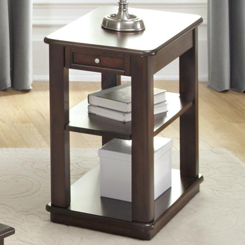 Wallace Chairside Table by Libby at Walker's Furniture