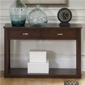Casual Sofa Table with 2 Drawers