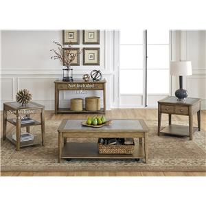 Liberty Furniture Weatherford  3 Piece Occasional Table Set