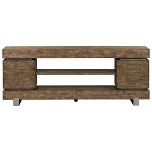 """Contemporary 72"""" TV Console with Metal Legs"""