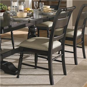 Slat Back Dining Side Chair