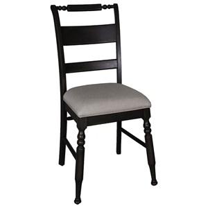 Slat Back Dining Side Chair