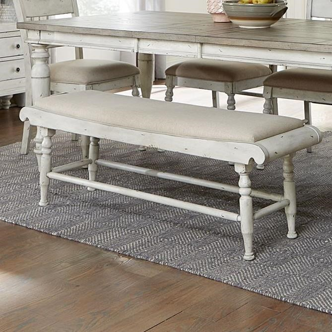 Whitney Bench by Liberty Furniture at Darvin Furniture
