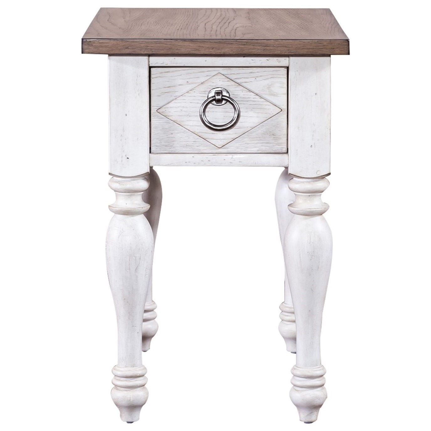 Willow Cottage Chair Side Table by Libby at Walker's Furniture
