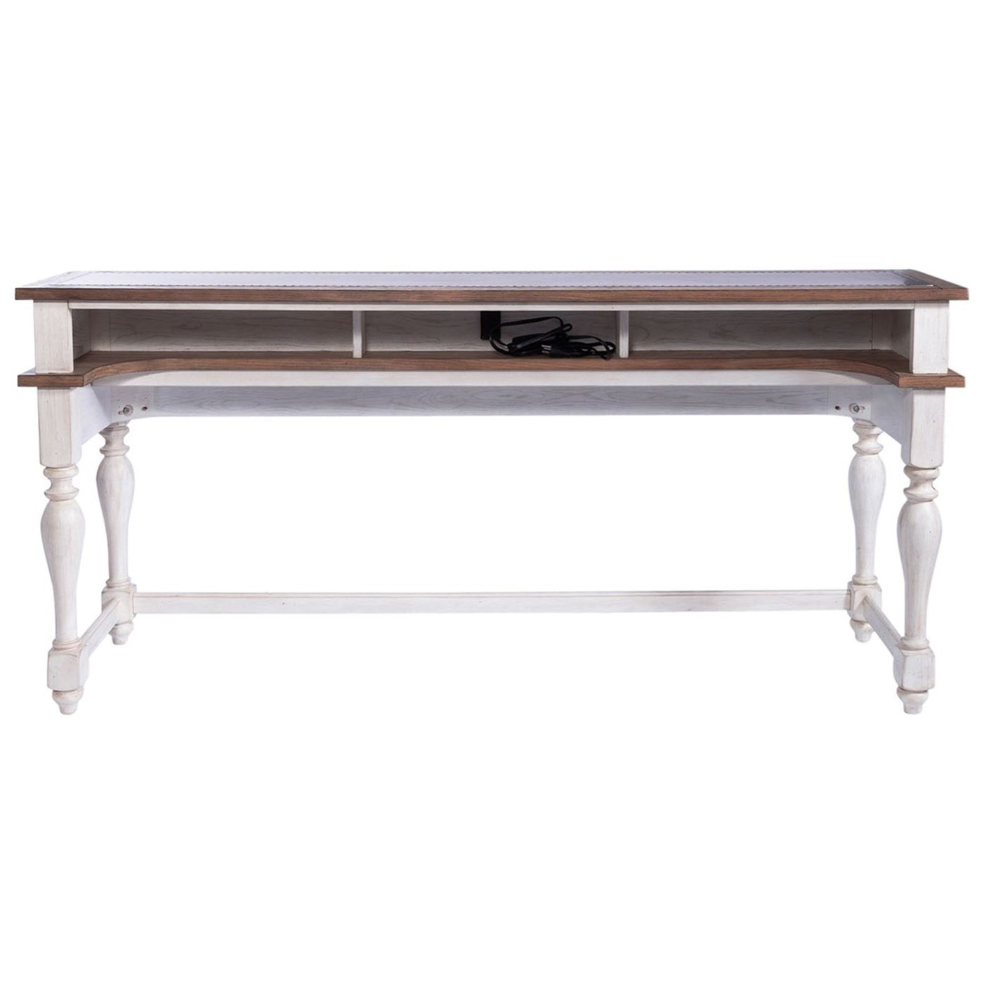 Willow Cottage Console Counter Height Bar Table by Libby at Walker's Furniture