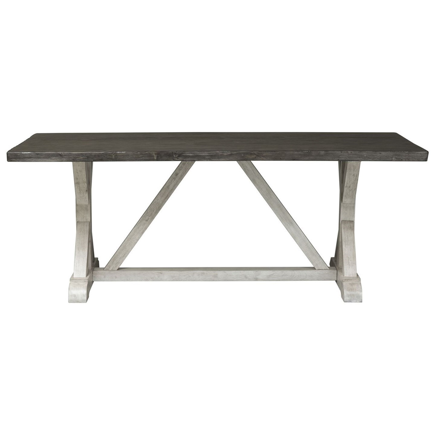 Willowrun Trestle Table by Libby at Walker's Furniture