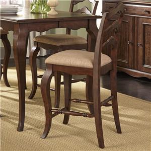 Liberty Furniture Woodland Creek  Ladder Back Counter Chair